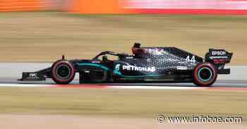 Hamilton marca el paso en la segunda práctica del Gran Premio de España - infobae