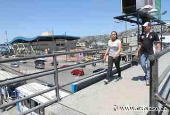 El lunes se desmantela el paso peatonal elevado de la Juan Tanca Marengo - expreso.ec