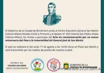 Conmemoran el Paso a la Inmortalidad del General San Martín - La Radio