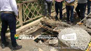 Hay paso restringuido en el puente El Peligro entre Salamina y Pácora - BC Noticias