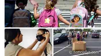 Mochilas, mascarillas y despensa gratis en feria de El Paso - NoticiasYa