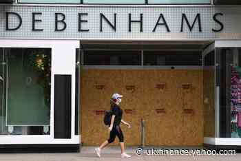 Debenhams hires firm to prepare liquidation in potential threat to thousands of jobs