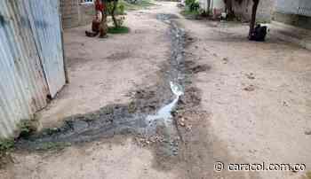 Colapsaron las fosas sépticas en barrio de Ponedera - Caracol Radio