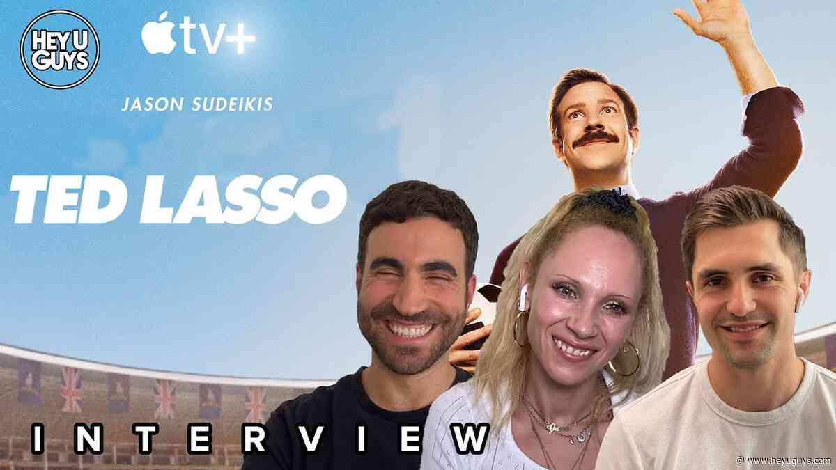 Exclusive: Jason Sudeikis, Juno Temple, Hannah Waddingham on more on the triumphant return of Ted Lasso - HeyUGuys