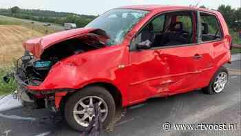Man gewond na afrijden talud bij Stegeren - RTV Oost