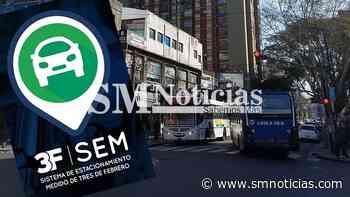 Caseros, Ciudadela, Santos Lugares y Sáenz Peña tendrán estacionamiento medido en algunos meses - SMnoticias