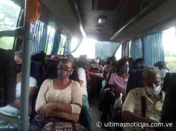 Ruta solidaria moviliza más de 5 mil personas de Higuerote a Caracas - Últimas Noticias