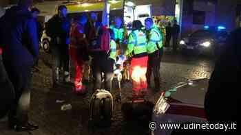 Grave incidente nella Bassa, motociclista cade e s'incastra sotto il guardrail - udinetoday.it