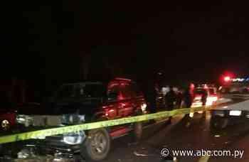 Accidente en Ybycuí deja un fallecido - Nacionales - ABC Color