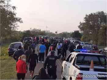 Ybycuí: Cierran paso a manifestantes que protestan contra corrupción municipal - ÚltimaHora.com