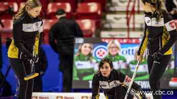 COVID-19 helps keep Oromocto curling team together - CBC.ca