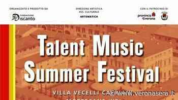 """""""Talent music summer festival"""" a Villa Vecelli Cavriani di Mozzecane - veronasera.it"""