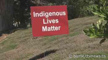 Arrest made after Indigenous Lives Matter signs destroyed in Schomberg - CTV Toronto