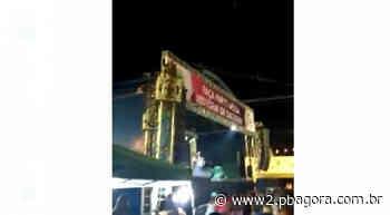 Em Natuba: homem morre eletrocutado durante show de Raniery Gomes - pbagora.com.br