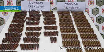 Hallada munición del Eln por el Ejército nacional en Sácama - Noticias de casanare - La Voz De Yopal