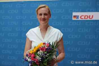 Bundestagskandidat: CDU wählt überraschend Sabine Buder statt Hans-Georg von der Marwitz - Märkische Onlinezeitung