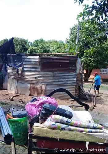 Chimichagua y Tamalameque afectados por fuerte vendaval - El País Vallenato