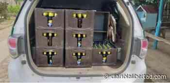 En Piojó incautan 26 cajas de cerveza que iban a ser comercializadas este puente festivo - Diario La Libertad