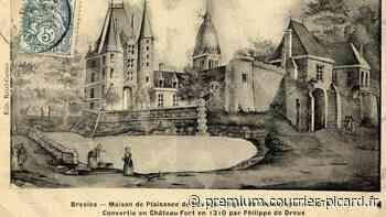 Le château de Bresles devenu la maison commune - Courrier picard