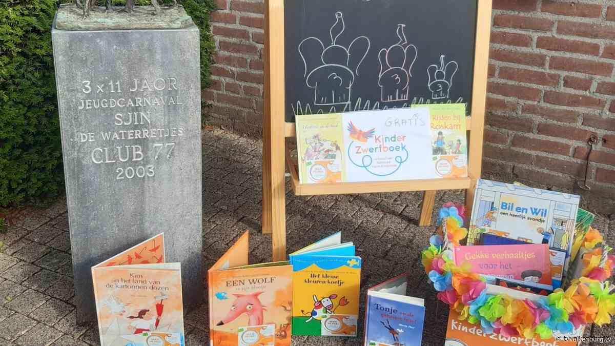 Kinderzwerfboekstation Schin op Geul deze week nog open • TV Valkenburg - TV Valkenburg