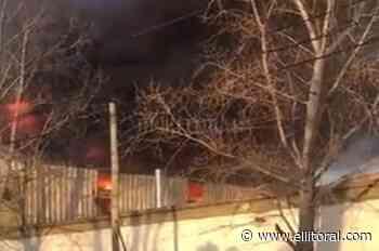 Se incendió una papelera en Gerli : - El Litoral