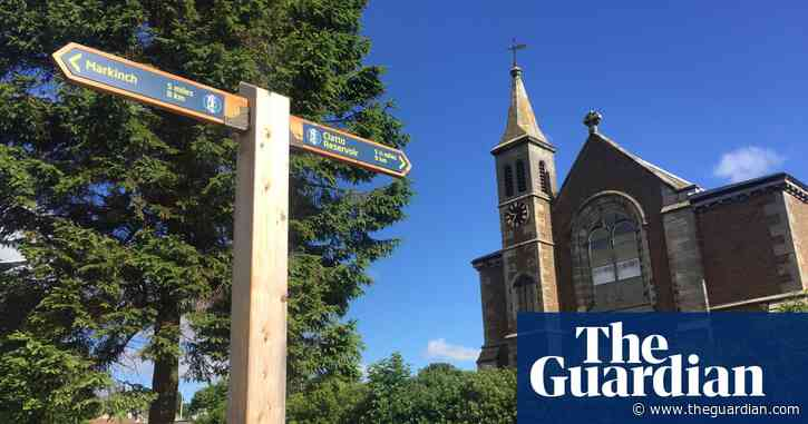 A hike on Fife's camino – Culross to St Andrews