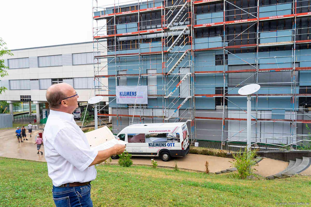 Nach Pfusch am Bau: Fassade der Realschule Bessenbach wird saniert - Main-Echo