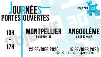 Journée Portes Ouvertes Ecole 3D - Objectif 3D - Objectif 3D, Montferrier-sur-lez, 34980 - Sortir à France - Le Parisien Etudiant
