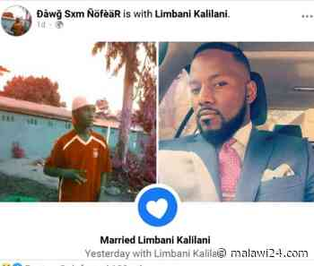 Tay Grin 'marries' another man - Malawi24