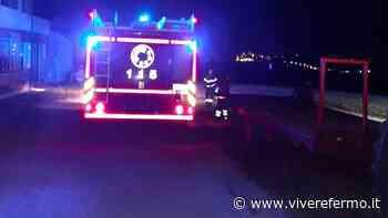 Monte San Pietrangeli: un incendio in piena campagna sedato sul nascere nella tarda serata di lunedì - Vivere Fermo