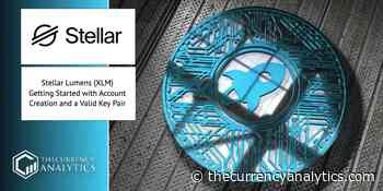 Stellar Lumens (XLM) Getting Started with Account Creation and a Valid Key Pair - The Cryptocurrency Analytics