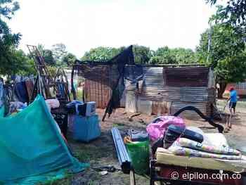 Fuerte vendaval causó estragos en Tamalameque - ElPilón.com.co