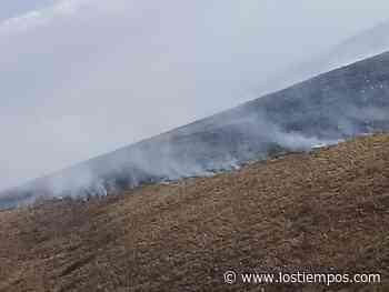 Reportan incendio de magnitud en Punata - Los Tiempos