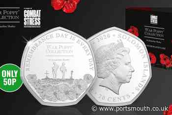 A special Remembrance Day 50p coin has just launched - here's how you can get one - Portsmouth News