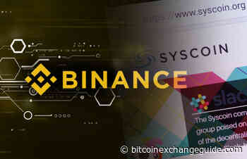 Binance Halts Trading Due to One Syscoin (SYS) Selling for 96 Bitcoins (BTC) - bitcoinexchangeguide.com