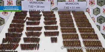 Hallada munición del Eln por el Ejército nacional en Sácama - Noticias de casanare - lavozdeyopal.co