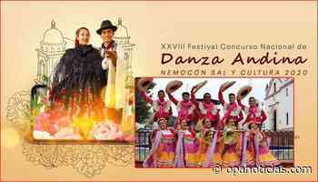 El Huila en el Festival Nacional de Danza Andina 2020 en Nemocón - Opanoticias