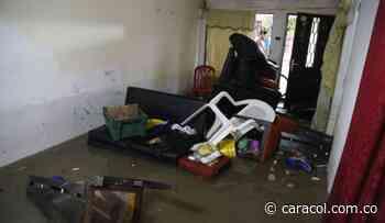90 casas inundadas en Malambo y Tubará por desbordamiento de arroyos - Caracol Radio