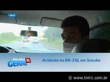 Urgente: Acidente na BR-316, em Satuba - TNH1