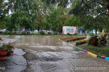 In Blagoveshchensk, an emergency regime was introduced due to flooding of several areas - Pledge Times