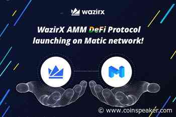 Binance-Owned WazirX to Launch DeFi Protocol Using Matic... - Coinspeaker