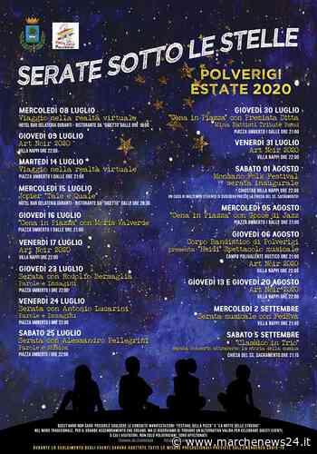 """Polverigi, """"Serate sotto le Stelle 2020"""": da mercoledì 8 Luglio a sabato 5 Settembre - Marche News 24"""