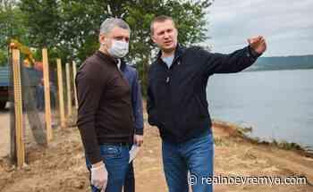 Tatarstan ecology minister in Nizhnekamsk — RealnoeVremya.com - Realnoe vremya