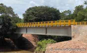 Fue inaugurado el puente Las Mercedes sobre el caño Canacavare en Orocué - Noticias de casanare - La Voz De Yopal