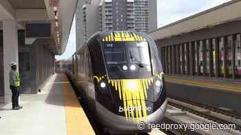 Brightline train won't adopt Virgin name