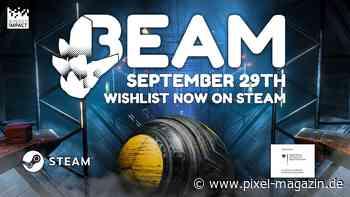 Gib dir die Kugel! Puzzle-Platformer BEAM erscheint am 29. September auf Steam - PIXEL.