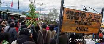 Lucha Mapuche. Vocero de Presos Políticos Mapuche de Angol en día 108 de huelga de hambre: «Ya no se pueden mover» - kaosenlared.net