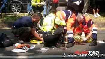 Lacchiarella, moto si incendia dopo un incidente: motociclista di 26 anni ustionato - milanotoday.it