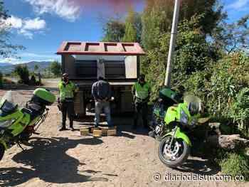 Hallaron volqueta con diez kilos de cocaína en el municipio de Túquerres - Diario del Sur