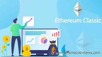 Ethereum Classic (ETC) Records Almost 5% Hike Overnight - NameCoinNews